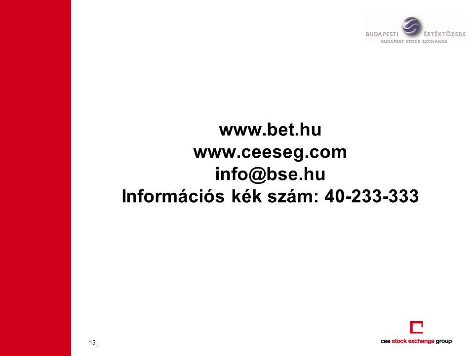 www.bet.hu www.ceeseg.com info@bse.hu Információs kék szám: 40-233-333