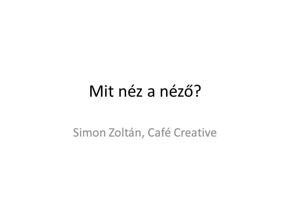 Simon Zoltán, Café Creative