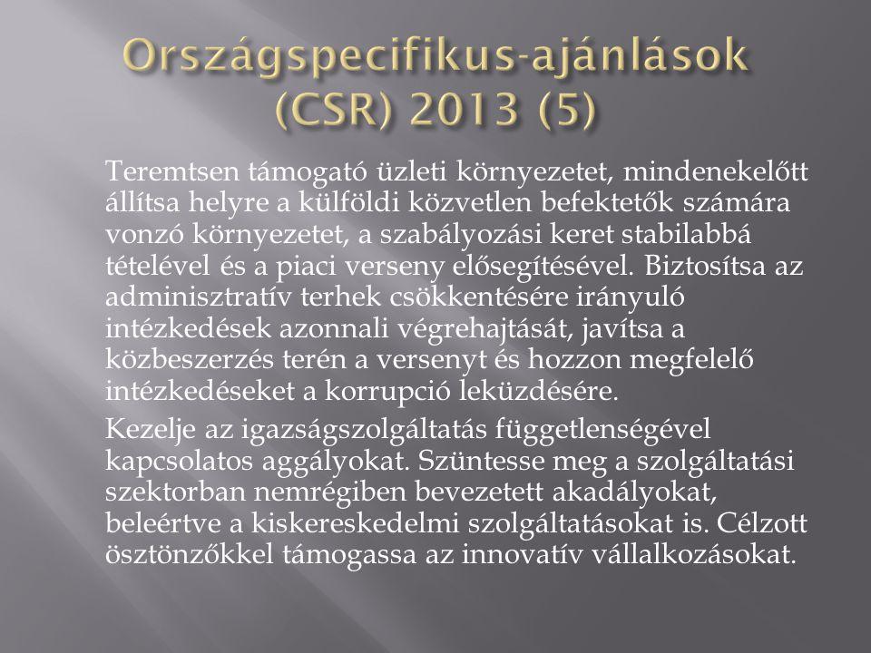 Országspecifikus-ajánlások (CSR) 2013 (5)