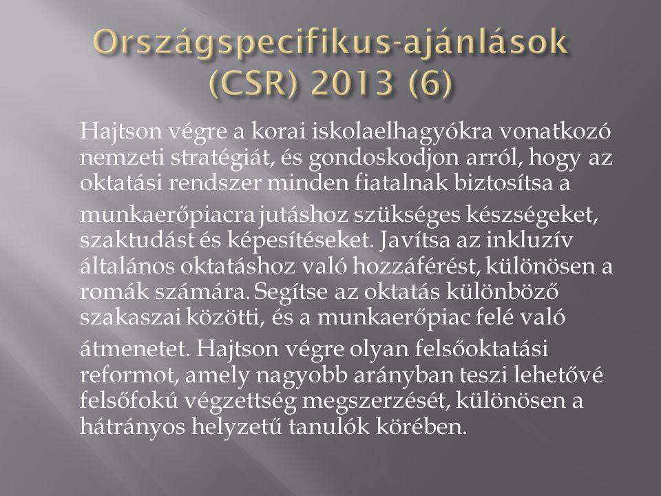 Országspecifikus-ajánlások (CSR) 2013 (6)