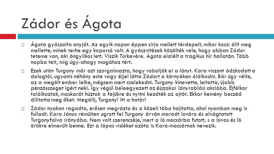Zádor és Ágota