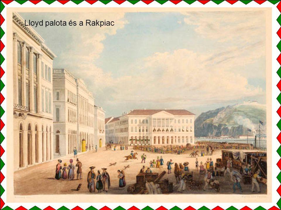 Lloyd palota és a Rakpiac