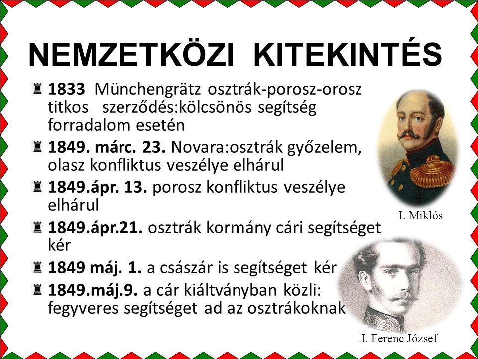 NEMZETKÖZI KITEKINTÉS