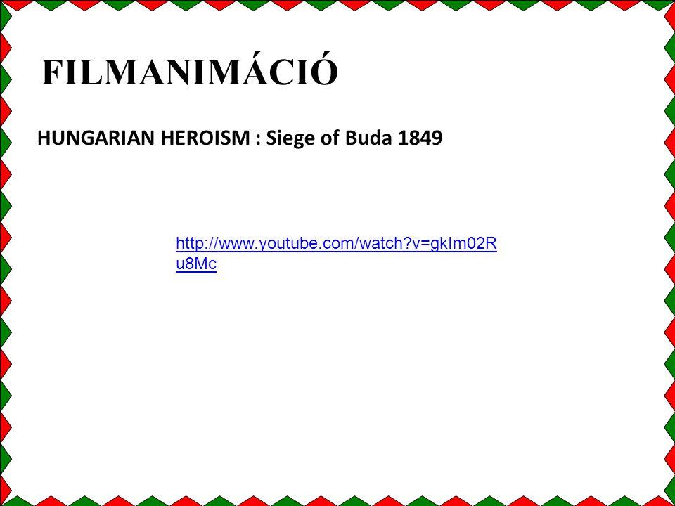 FILMANIMÁCIÓ HUNGARIAN HEROISM : Siege of Buda 1849
