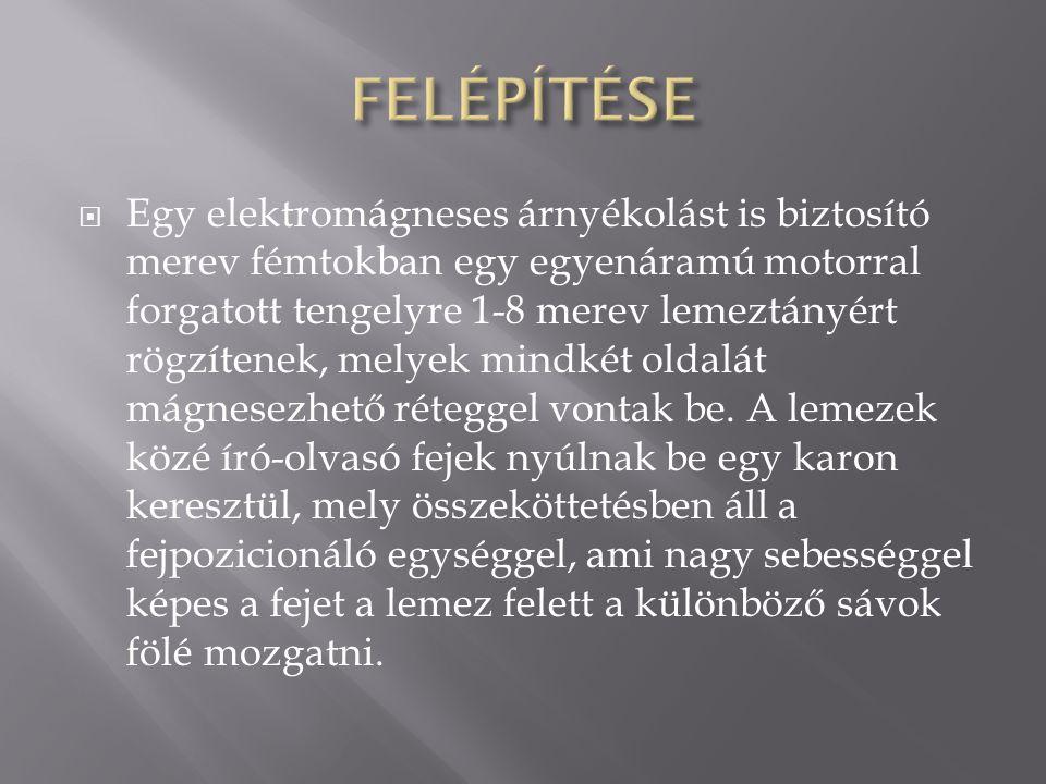 FELÉPÍTÉSE