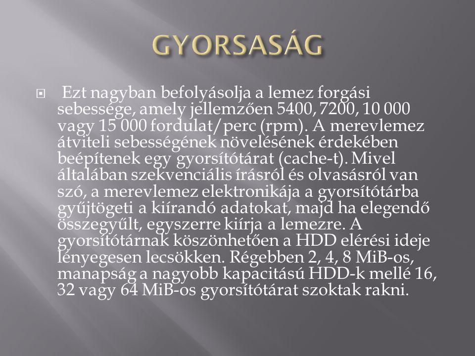 GYORSASÁG