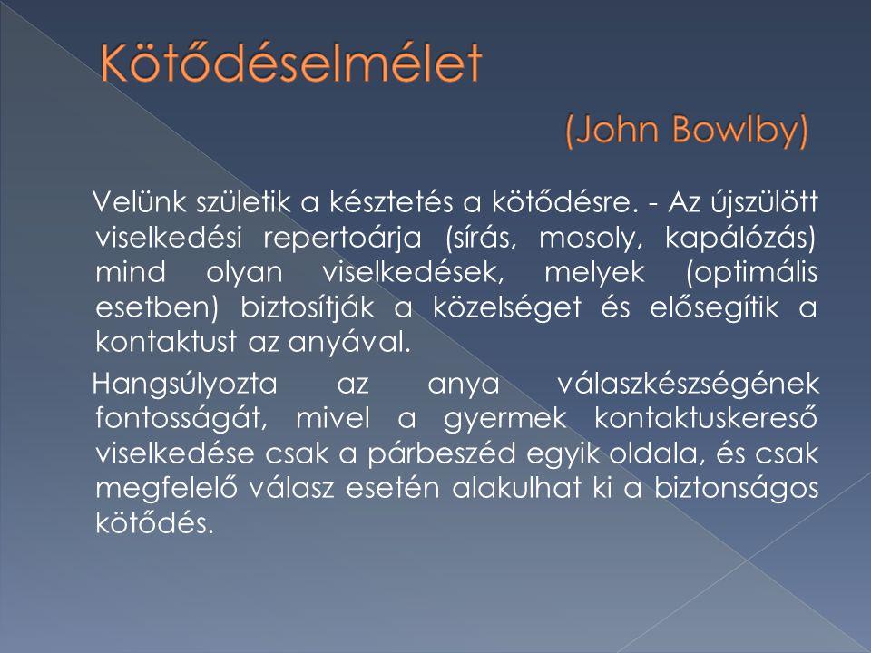 Kötődéselmélet (John Bowlby)