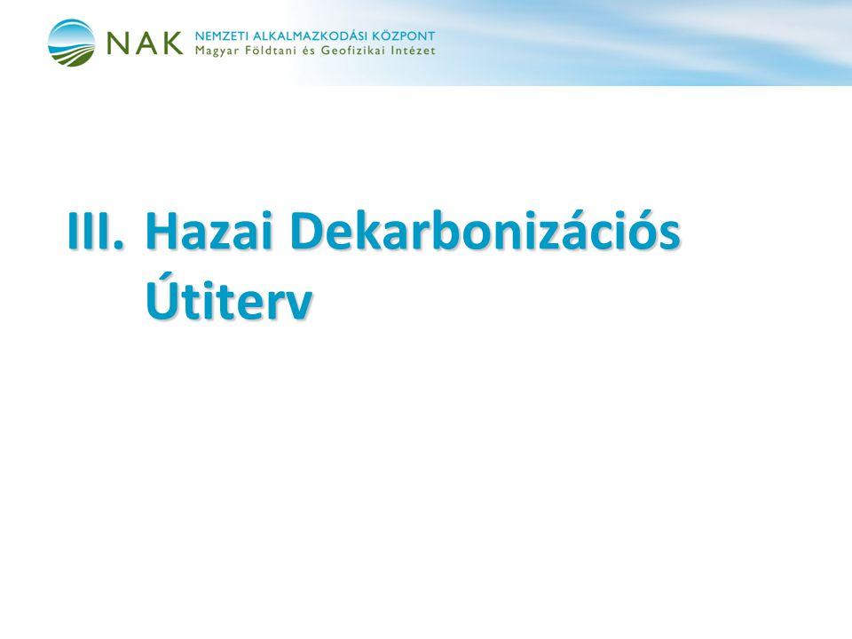 III. Hazai Dekarbonizációs Útiterv