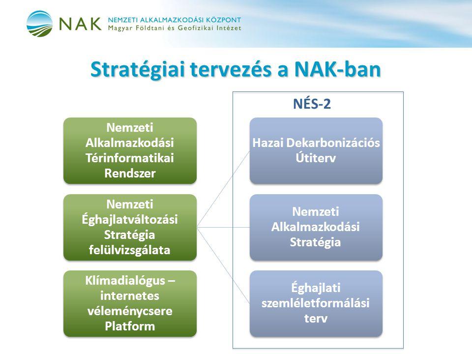 Stratégiai tervezés a NAK-ban