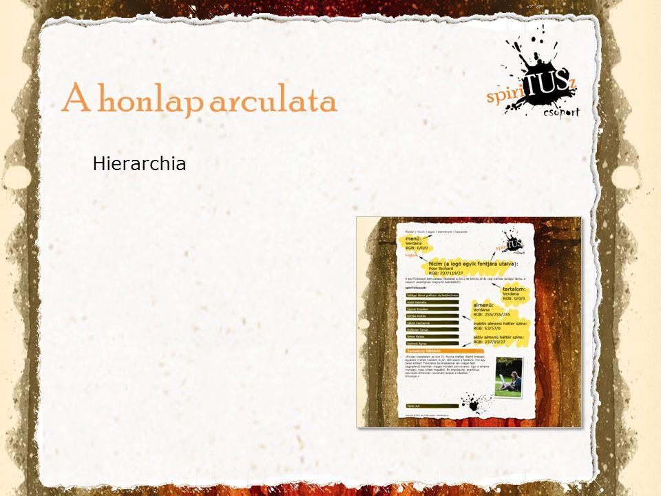 A honlap arculata Hierarchia