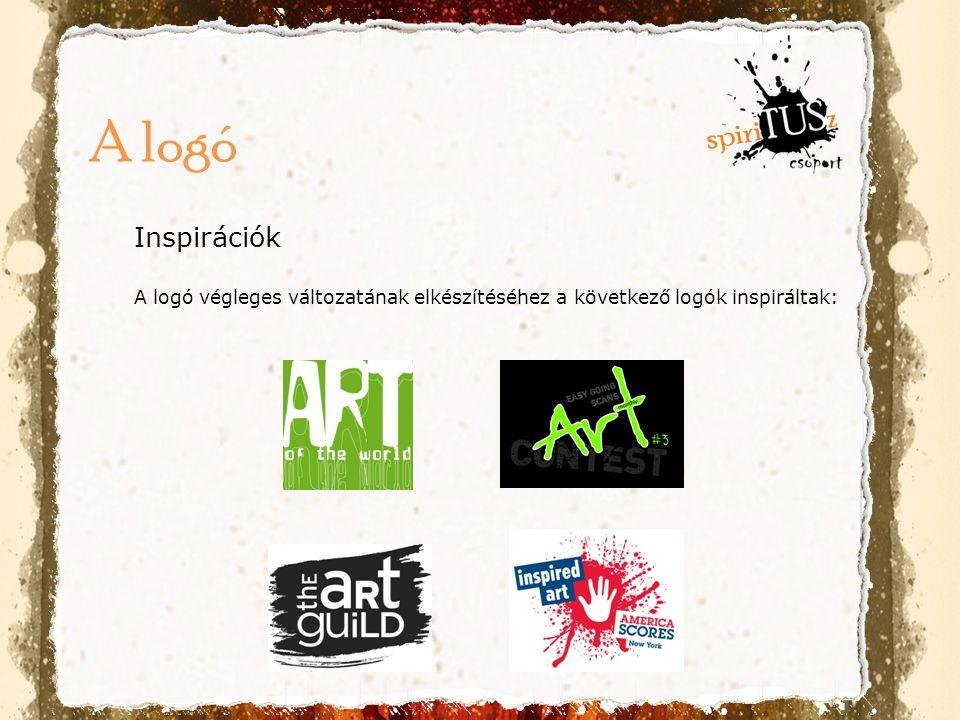 A logó Inspirációk A logó végleges változatának elkészítéséhez a következő logók inspiráltak: