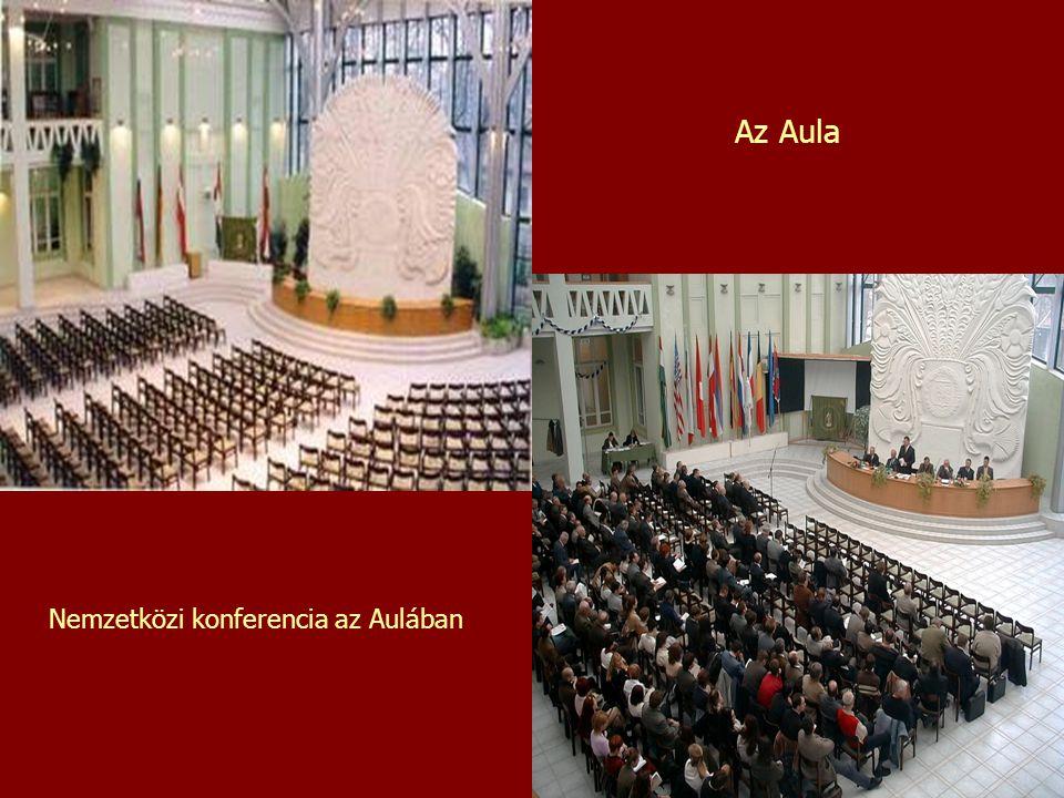 Az Aula Nemzetközi konferencia az Aulában