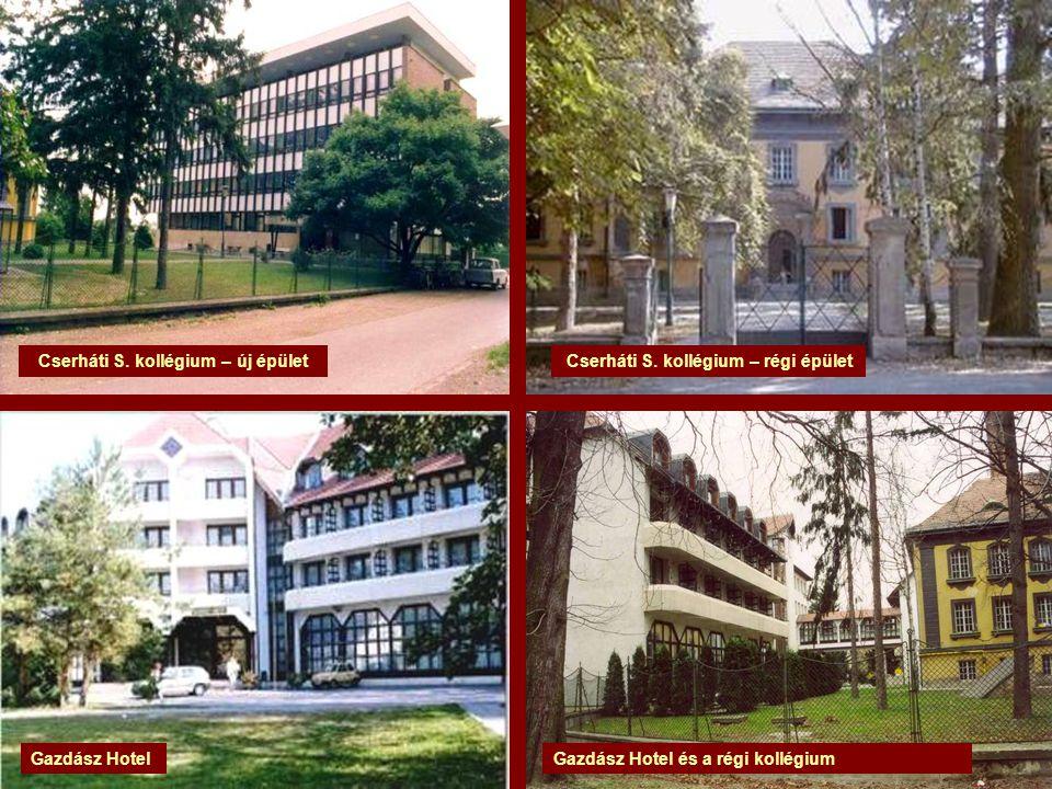Cserháti S. kollégium – új épület