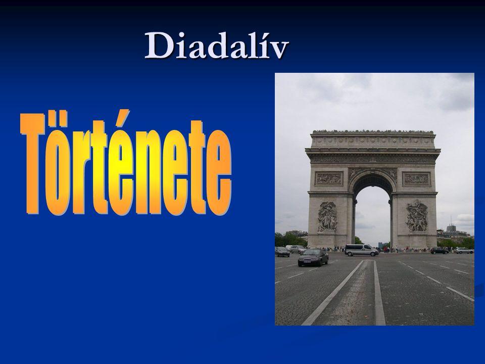 Diadalív Története