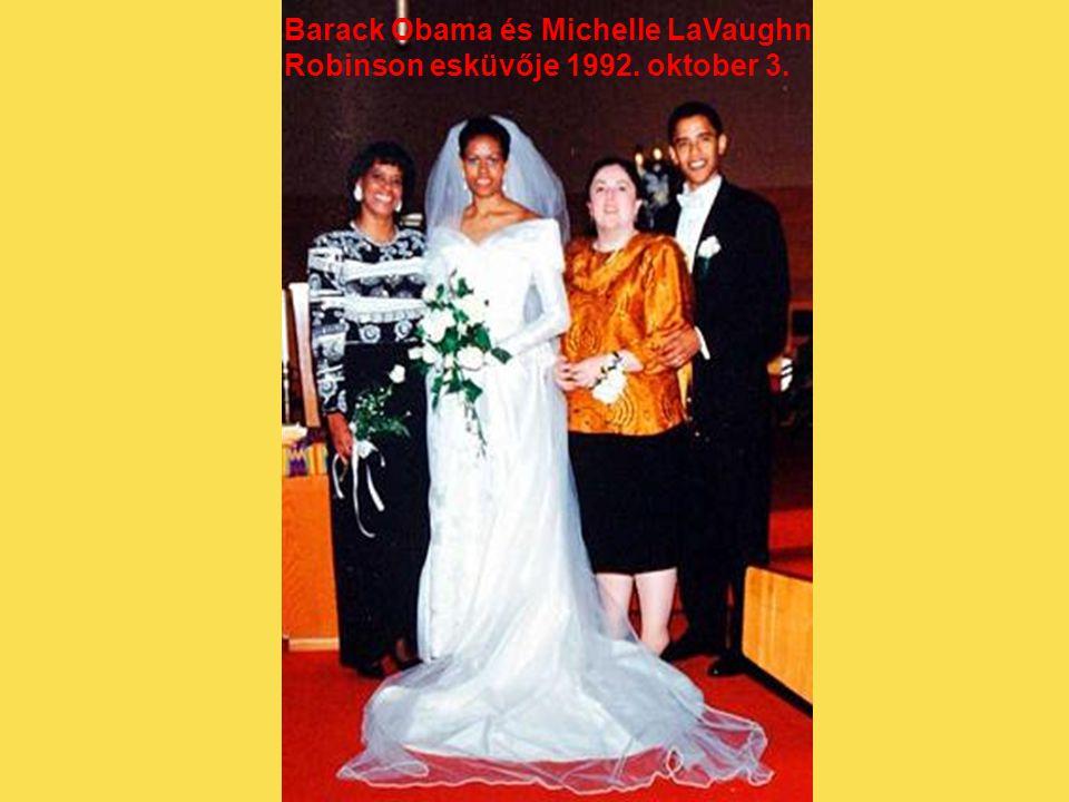 Barack Obama és Michelle LaVaughn
