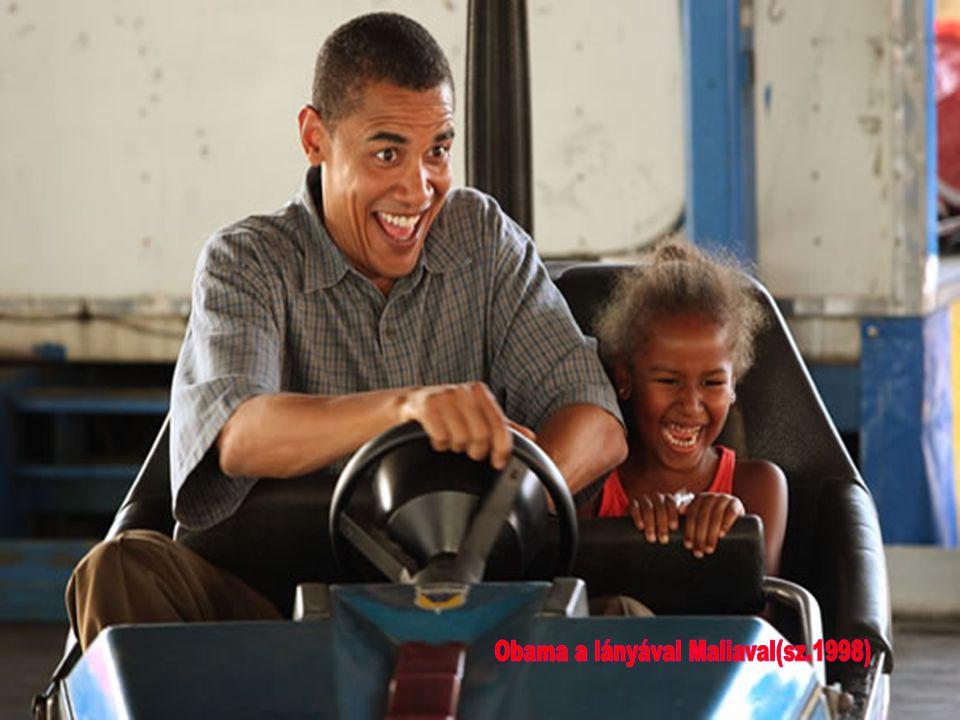 Obama a lányával Maliaval(sz.1998)