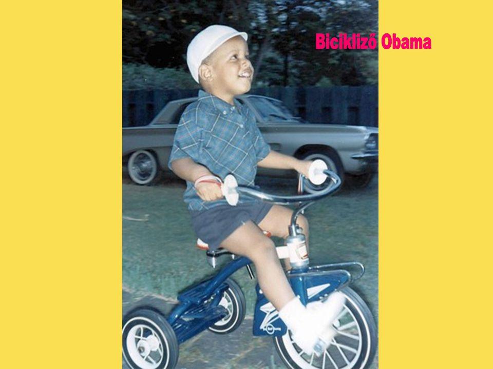Bicikliző Obama