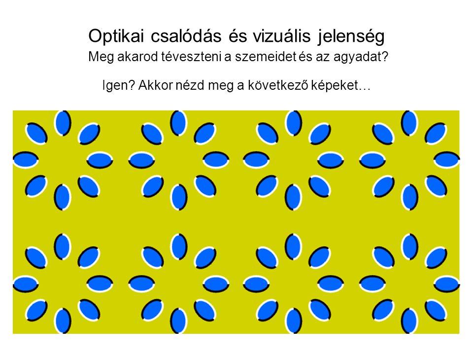 Optikai csalódás és vizuális jelenség Meg akarod téveszteni a szemeidet és az agyadat.