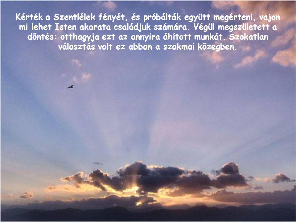 Kérték a Szentlélek fényét, és próbálták együtt megérteni, vajon mi lehet Isten akarata családjuk számára.