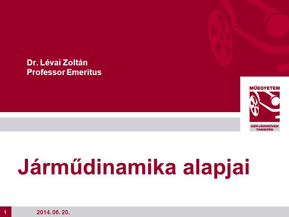 Dr. Lévai Zoltán Professor Emeritus