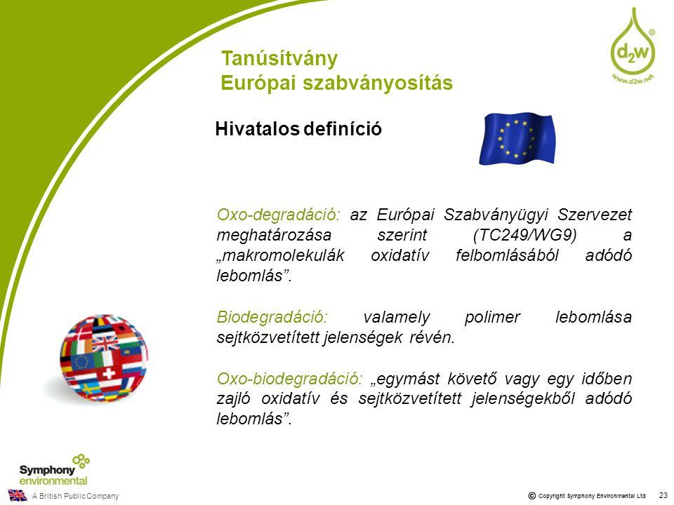 Európai szabványosítás