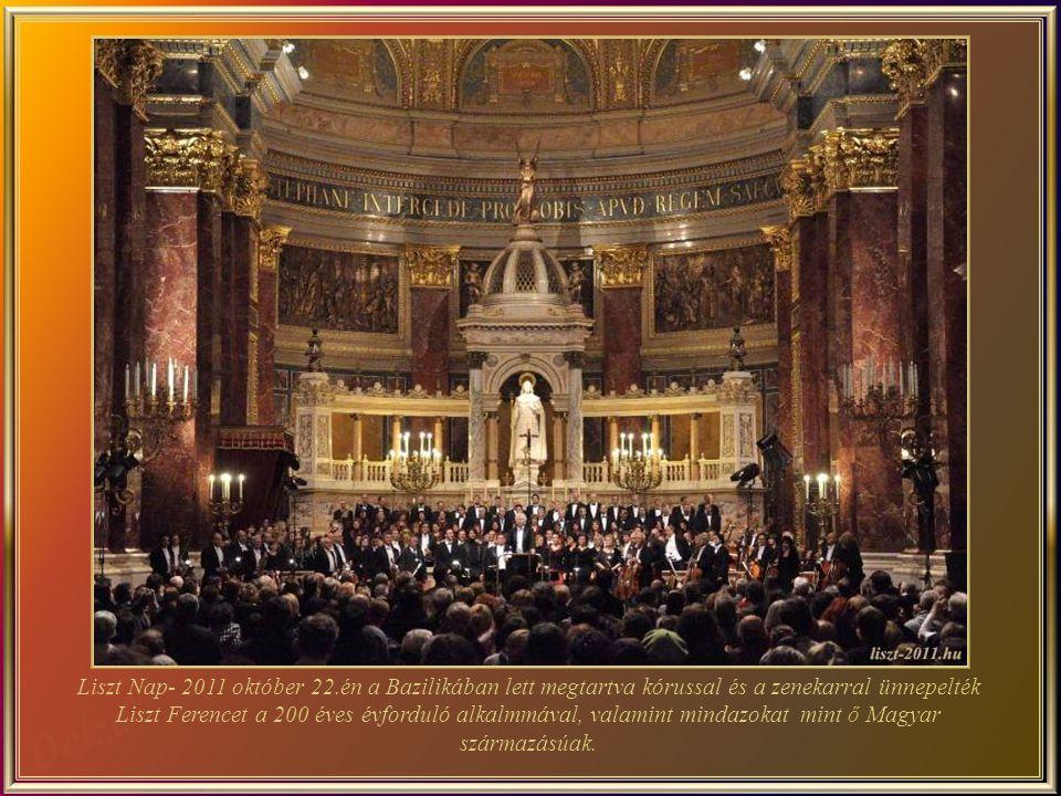 Liszt Nap- 2011 október 22.én a Bazilikában lett megtartva kórussal és a zenekarral ünnepelték Liszt Ferencet a 200 éves évforduló alkalmmával, valamint mindazokat mint ő Magyar származásúak.