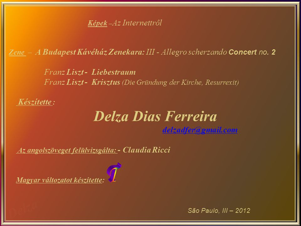 T Franz Liszt - Liebestraum