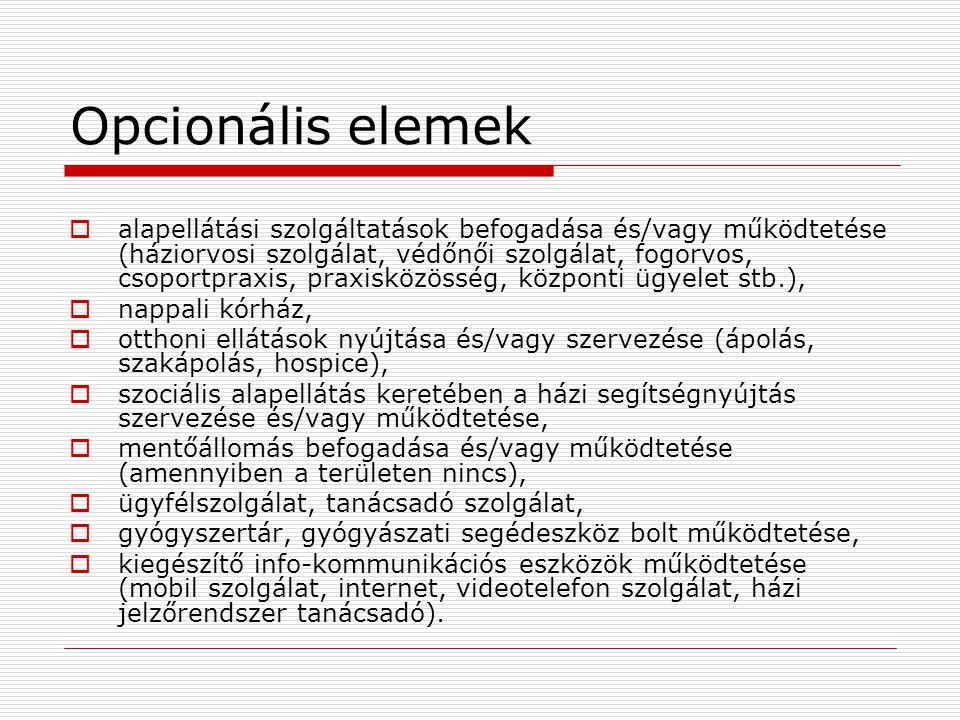 Opcionális elemek