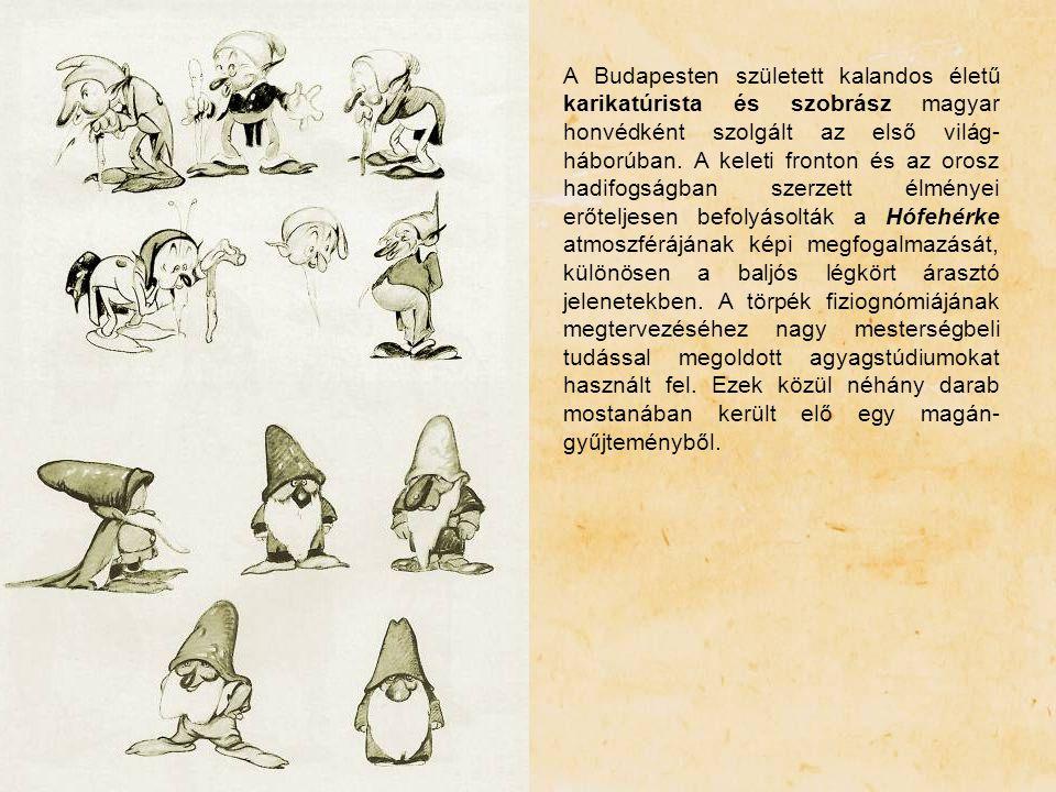 A Budapesten született kalandos életű karikatúrista és szobrász magyar honvédként szolgált az első világ-háborúban.