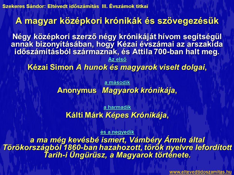A magyar középkori krónikák és szövegezésük