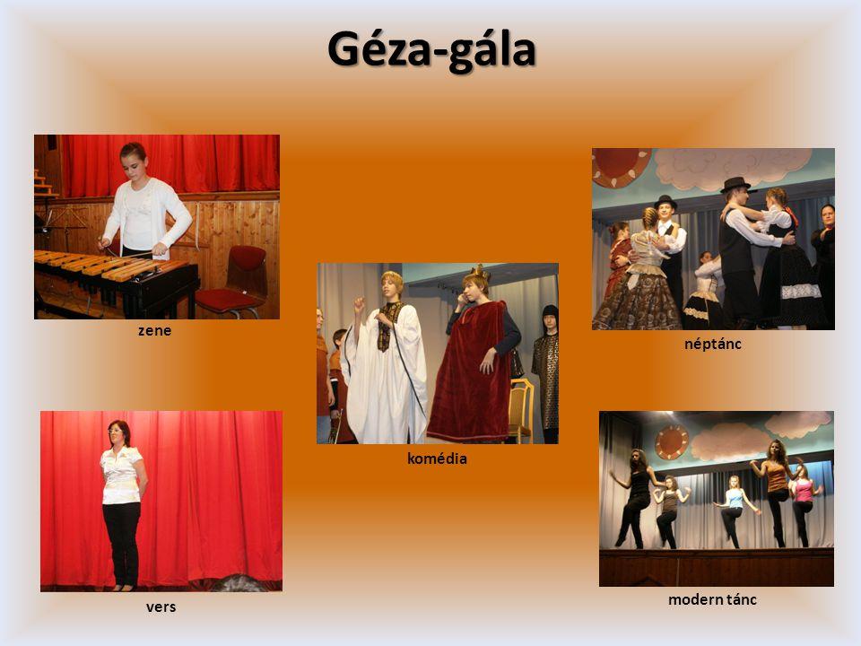 Géza-gála zene néptánc komédia modern tánc vers