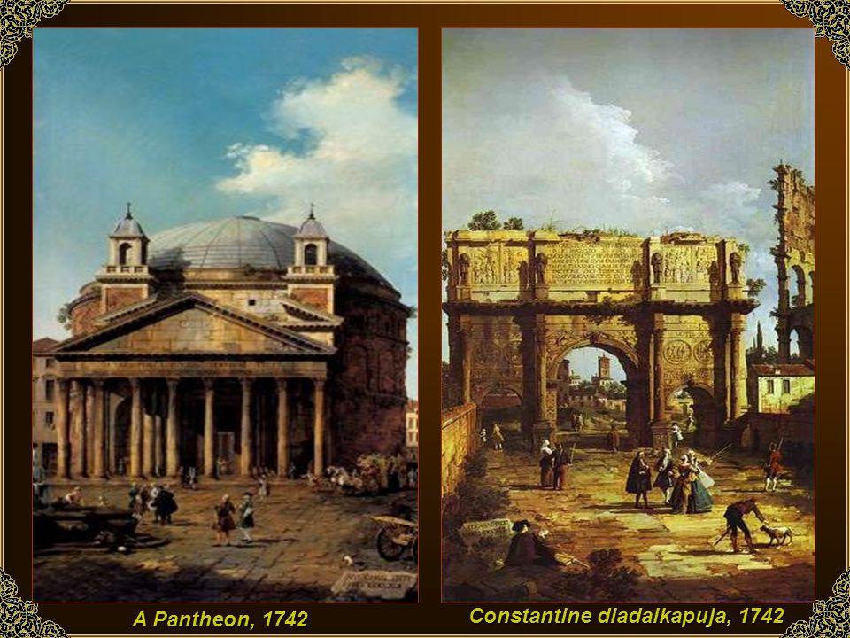Constantine diadalkapuja, 1742