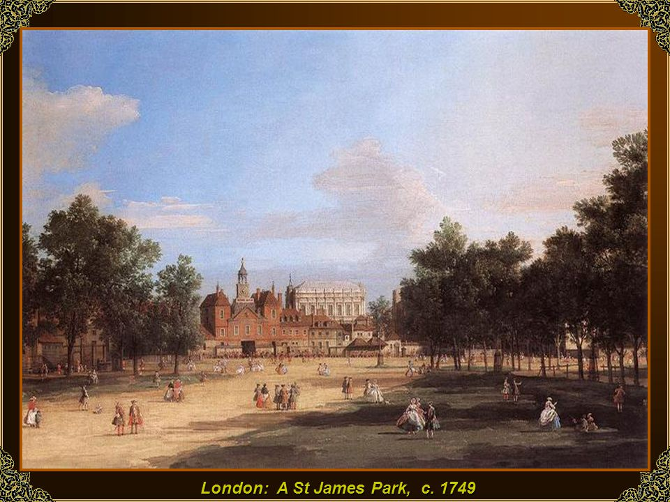 London: A St James Park, c. 1749