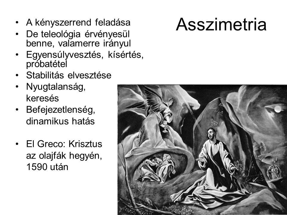 Asszimetria A kényszerrend feladása