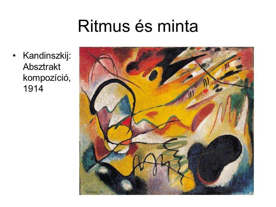 Ritmus és minta Kandinszkij: Absztrakt kompozíció, 1914