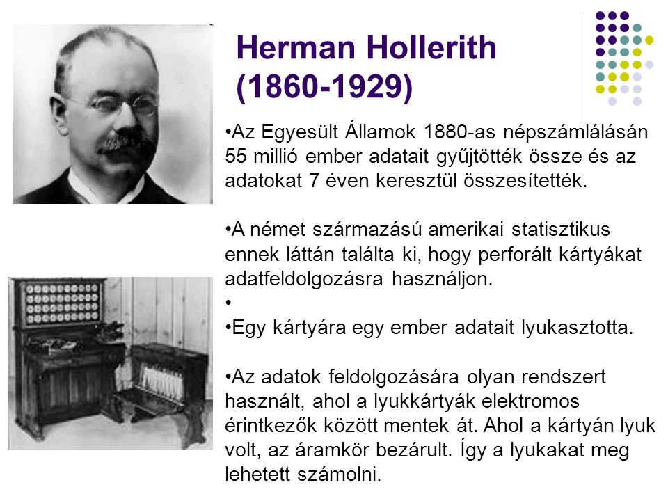 Herman Hollerith ( )
