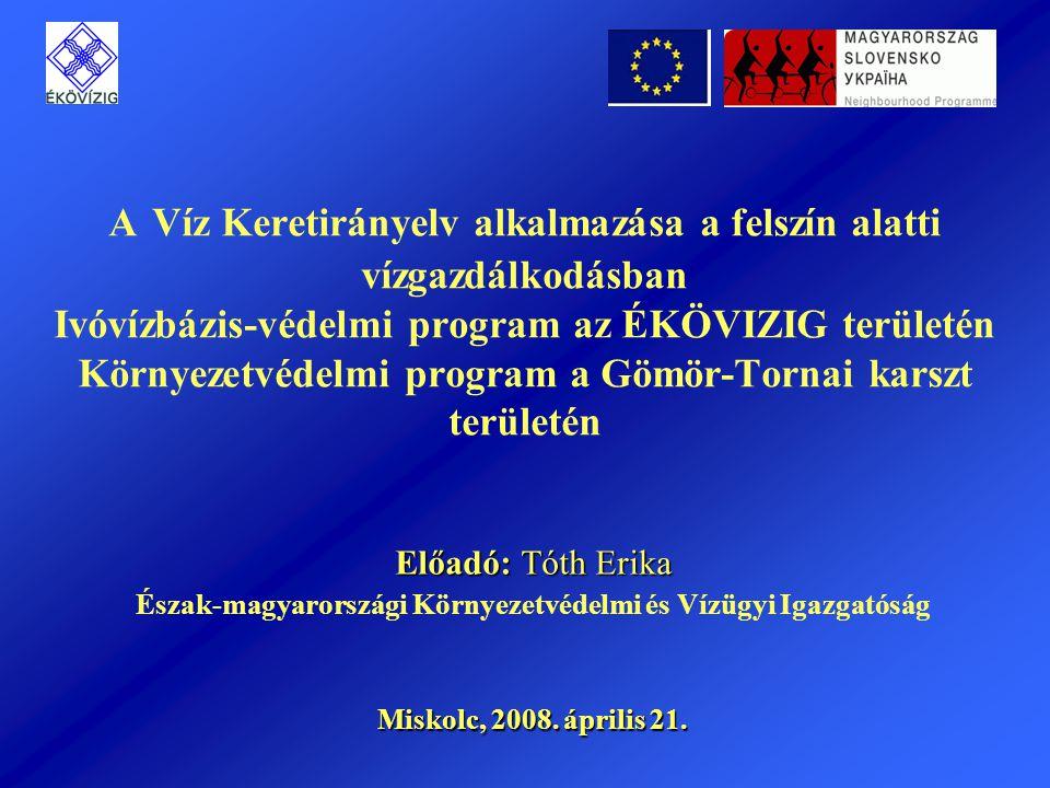 Észak-magyarországi Környezetvédelmi és Vízügyi Igazgatóság