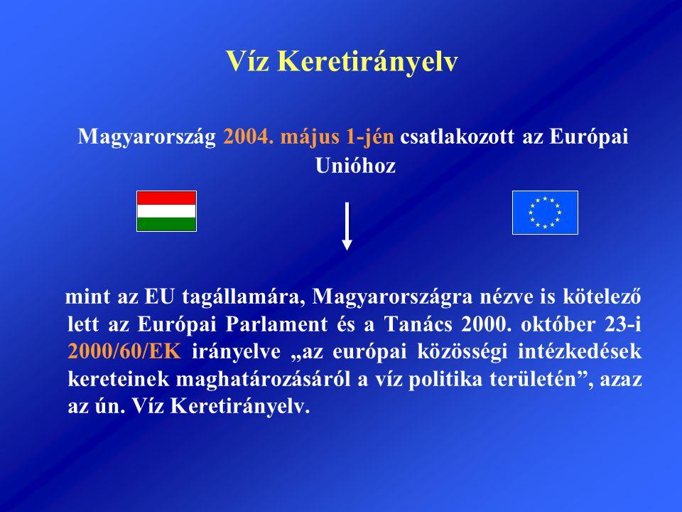 Magyarország 2004. május 1-jén csatlakozott az Európai Unióhoz