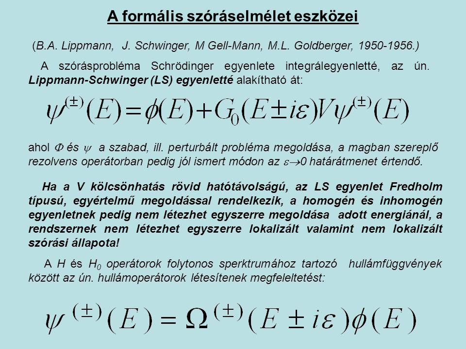 A formális szóráselmélet eszközei