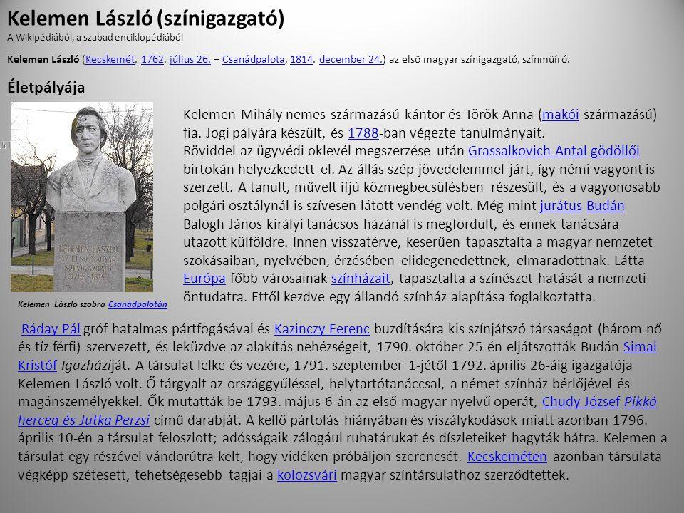 Kelemen László (színigazgató)