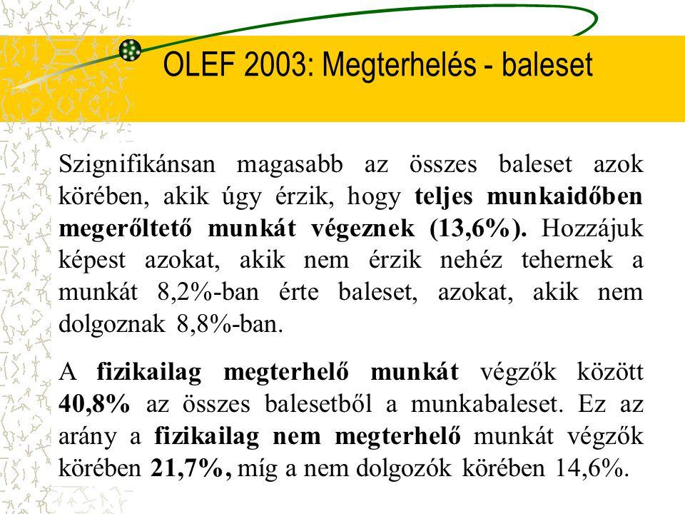 OLEF 2003: Megterhelés - baleset