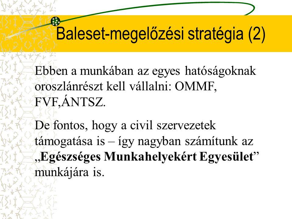 Baleset-megelőzési stratégia (2)