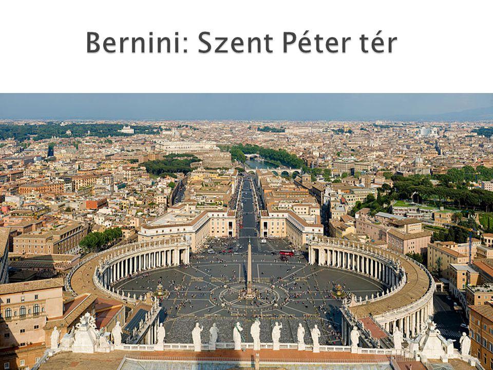 Bernini: Szent Péter tér