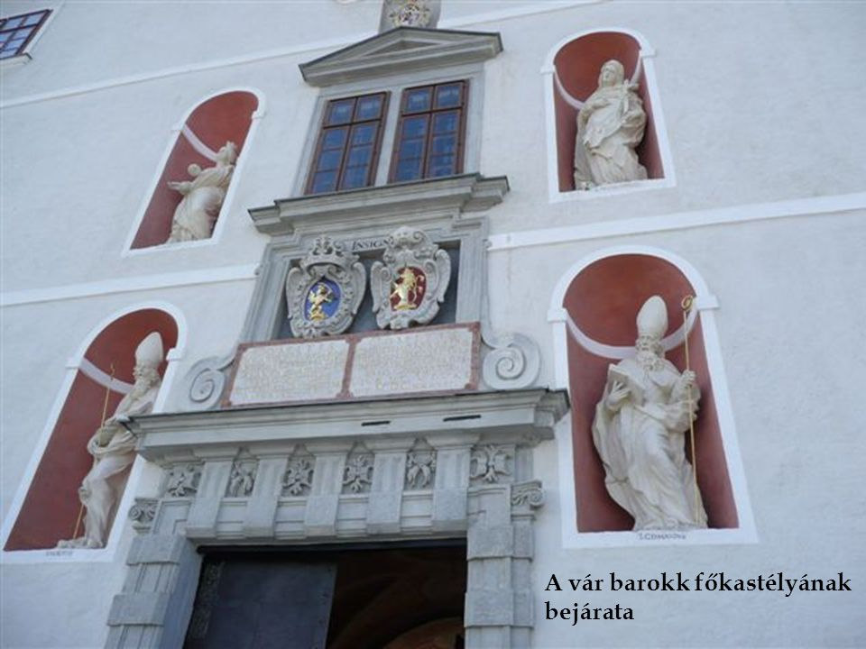 A vár barokk főkastélyának