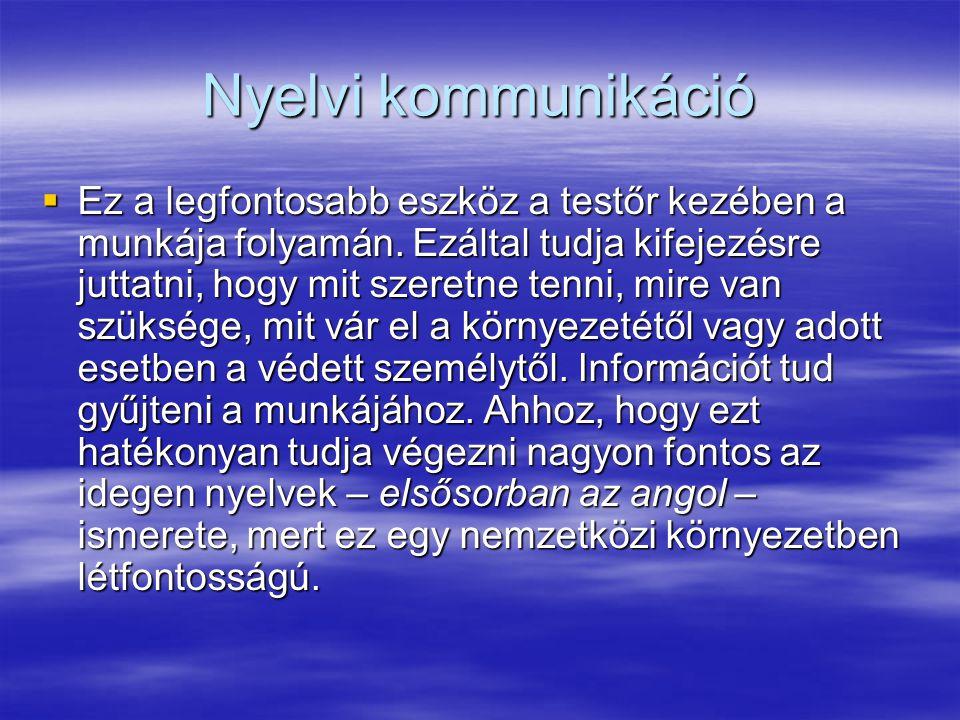Nyelvi kommunikáció