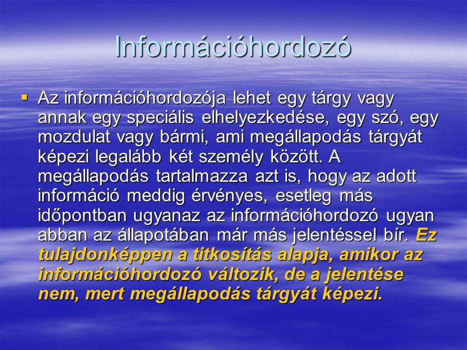 Információhordozó