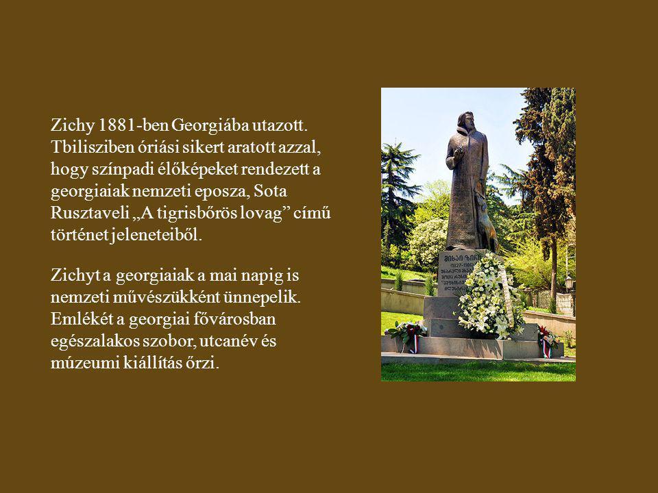 Zichy 1881-ben Georgiába utazott