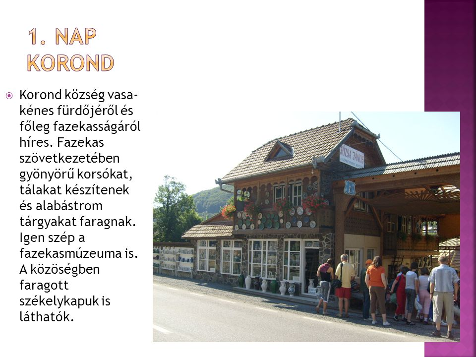 1. NAP Korond
