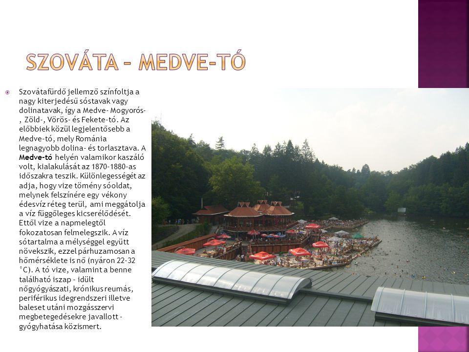 Szováta – Medve-tó