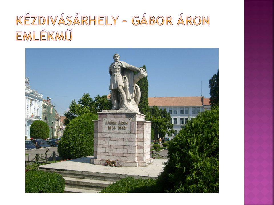 Kézdivásárhely – Gábor Áron emlékmű